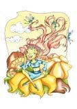(1) czarodziejki Obraz Royalty Free