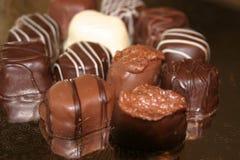 1 czekoladki Obrazy Stock
