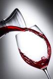 (1) czerwone wino Fotografia Stock