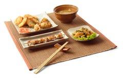 1 déjeuner d'affaires asiatique Image libre de droits