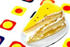 1 désert de gâteau Photographie stock libre de droits