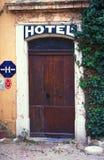 1 dörr france Royaltyfri Bild
