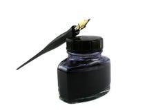 1 długopis tuszu Zdjęcie Stock