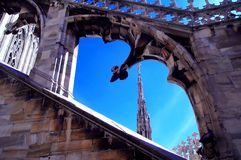 1 dach katedry Obrazy Royalty Free