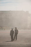 1 dagdemonstration kan penza russia Arkivfoto