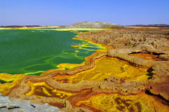 (1) dallol Obraz Stock