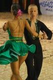 1 dansarelatin Royaltyfri Bild