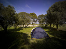 1 de acampamento Fotografia de Stock