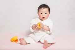1 de jongen van éénjarigen Royalty-vrije Stock Afbeelding