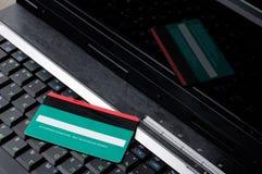 1 de la tarjeta de crédito Imagen de archivo