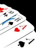 1 deck karty Zdjęcie Stock