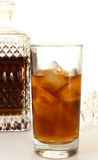 1 dekantatoru rumu. Zdjęcia Stock