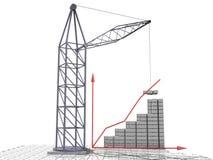 1 din byggandeaffär Arkivbild