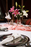 1 dinning elegante Imagem de Stock Royalty Free