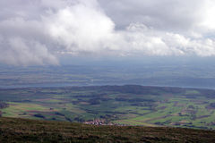 1 doliny widok Fotografia Royalty Free