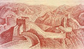 1 Dollar-Chinese-Banknote Lizenzfreies Stockfoto