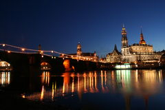 1 Dresden odzwierciedlał Fotografia Royalty Free