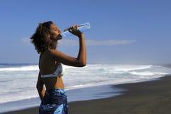 1 dricksvatten royaltyfria bilder