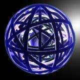 1 dynamiska level sphere Royaltyfri Foto
