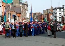 (1) dzień parady Patrick s st Zdjęcia Stock