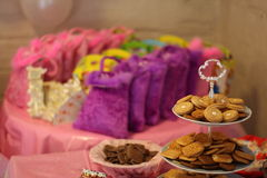 (1) dziecka urodzinowy stary przyjęcia s rok Fotografia Royalty Free