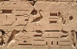 1 egypt tecken Royaltyfri Bild