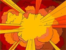 1 eksplozję Obrazy Stock