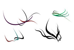 (1) eleganci kształty Obraz Royalty Free