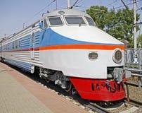 (1) elektryczny stary pociąg Obrazy Royalty Free