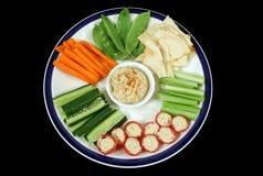1 enteraining υγιές platter Στοκ Εικόνα