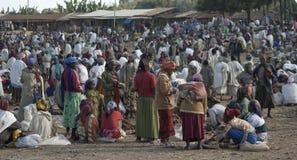 1 ethiopian marknad Fotografering för Bildbyråer