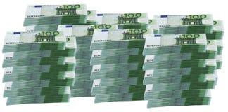 1 euro miljon Royaltyfria Foton