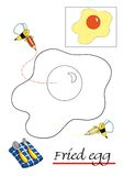 1 färga för bokbarn stock illustrationer