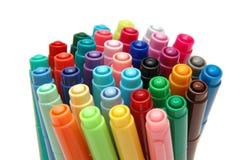1 färgpenna arkivbild