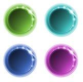 1 färgpunkt arkivbild