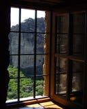 1 fönster Arkivfoto