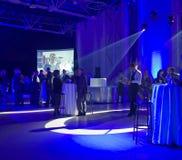 1 företags deltagare Royaltyfri Fotografi