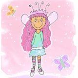 1 fairy девушка Стоковая Фотография