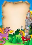 1 fairy сказ пергамента Стоковое Фото