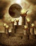 (1) fantazi ruiny Zdjęcia Royalty Free