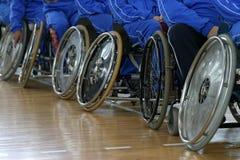 1 fauteuil roulant neuf Photographie stock libre de droits