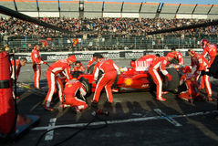 команда Формула-1 ferrari Стоковое Изображение RF