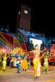 1 festival malaysia för 2011 färger Arkivfoto