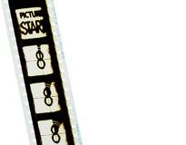 1 filmstrip 35 mm Obraz Stock
