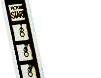 1 filmstrip 35mm Στοκ Εικόνα