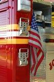 1 firetruck Zdjęcia Stock