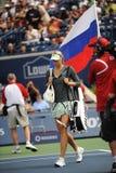 1 flaggamaria rogers rus för 2009 kopp sharapova under Royaltyfri Fotografi