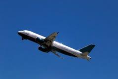 1 flygplan royaltyfri fotografi
