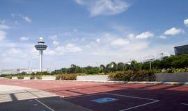 1 flygplats changi singapore Arkivbilder