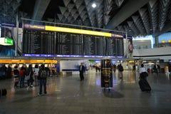 1 flygplatsfrankfurt terminal Royaltyfri Bild